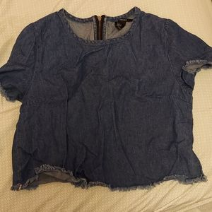 jean material top size small